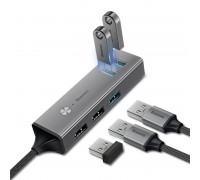 Cube Type-C to USB 3.0 3+USB 2.0 2 HUB Adapter