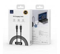 WiWU F20 Type-C to Type-C Cable (2 метра) чёрный