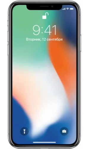 Телефон Apple iPhone X 64Gb Silver