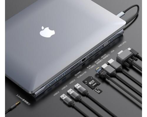 USB-концентратор Baseus Enjoyment Series USB-C