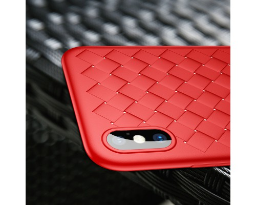 Чехол Baseus BV Weaving Case for iphone X/Xs Red