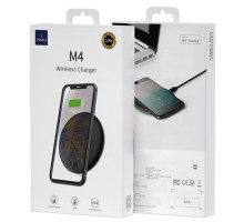Беспроводное зарядное устройство WiWU M4 Wireless Desktop Charger чёрное