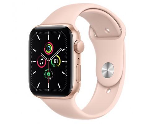 Часы Apple Watch SE GPS 40мм корпус из алюминия розовый + ремешок розовый (MYDN2RU/A)