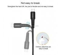 Wiwu Elite data cable Lightning to Type-C 1.2m Black