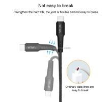 Wiwu Elite data cable Lightning to Type-C 2m Black