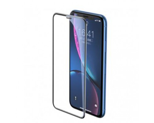 Baseus full-screen curved tempered glass screen protector For iP XR 6.1